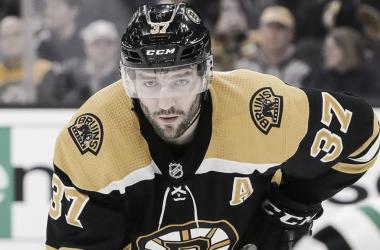 Patrice Bergeron. Fuente: NHL