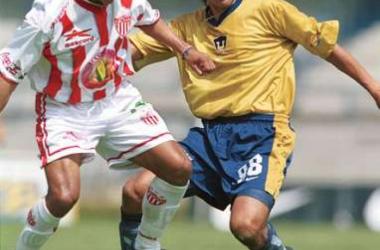 Marcelino Bernal con Pumas