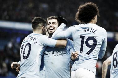 Manchester City, massimo risultato con il minimo sforzo   www.twitter.com (@BernardoCSilva)