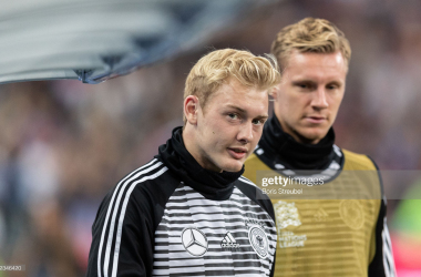 PARIS, FRANCE - OCTOBER 16: Julian Brandt of Germany looks on prior to the UEFA Nations League A group one match between France and Germany at Stade de France on October 16, 2018 in Paris, France. (Photo by Boris Streubel/Getty Images)