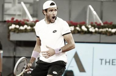 Matteo Berrettini venceu Casper Ruud no Masters 1000 de Madrid 2021 (ATP / Divulgação)