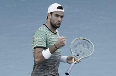 Berrettini vence Anderson em sets diretos e avança no Australian Open