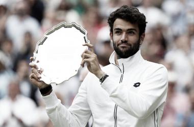"""""""Preciso de experiências como esta"""", diz Berrettini após vice em Wimbledon"""