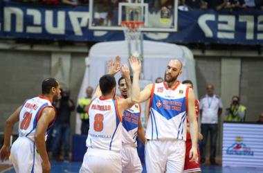 Red October CantuRed October Cantu - Victoria Libertas PesaroLega Basket Serie A 2017/2018Cantu, 26/12/2017Foto F. Bertani Ciamillo - Castoriaa.