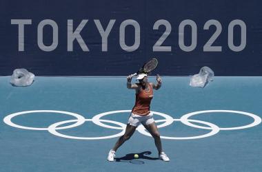 Bertens se despede do esporte nas Olimpíadas (Foto: Divulgação/Team Nederland)