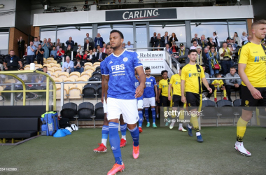 Leicester City face Wycombe Wanderers in the second pre-season game after loss to Burton Albion | Credit: Getty Images | Plumb Images
