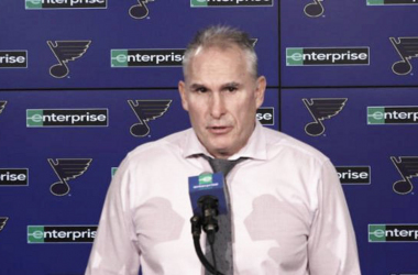 St. Louis Blues Craig Berube had no explanation why his team hasn't played better. | Photo: nhl.com