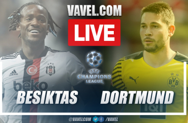 Highlights and goals: Besiktas 1-2 Borussia Dortmund in Champions League 2021-22