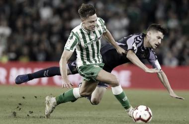 Encuentro de la temporada pasada entre el Real Betis y Real Valladolid | Real Valladolid