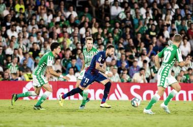 Partido de la temporada pasada entre Betis y Levante. Foto: Levante UD