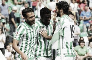 Última visita del Osasuna al Villamarín: Betis 3-0 Osasuna