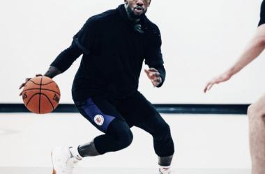 Patrick Beverly en un entrenamiento con los Clippers. | Foto: NBA.com / Clippers