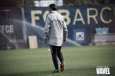 Ernesto Valverde durante un entrenamiento | Foto de Noelia Déniz, VAVEL