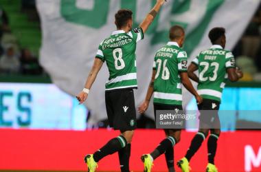Sporting bateu Nacional, em Lisboa. GettyImages