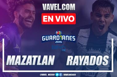 Goles y resumen: Mazatlán 1-2 Monterrey en Liga MX Guard1anes 2020