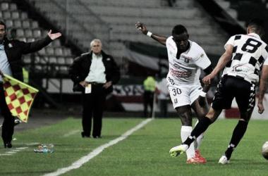 Resultado Boyacá Chicó - Once Caldas en la Liga Águila 2015-II (0-0)