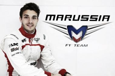 Bianchi earnt Marussia's first points in Monaco