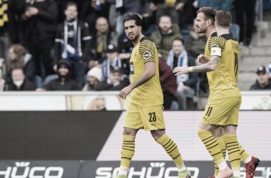 El tanto de Emre Can despierta a Dortmund en la primera mitad del encuentro | Foto:@Bundesliga_EN
