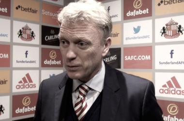 David Moyes tras el partido que supone la cuarta victoria de su equipo en la presente temporada. Foto: Sunderland AFC
