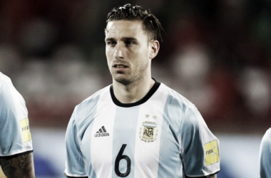 Lucas Biglia dijo adiós // Foto: Selección Argentina