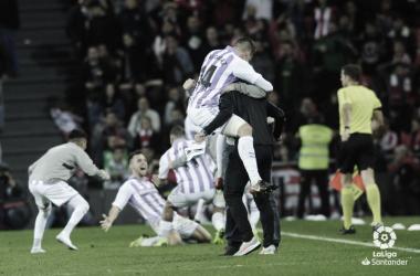 Pelear cada balón como si fuera el último, una de las claves para ganar al Athletic de Bilbao