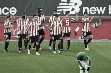 Athletic Bilbao atropela Betis no Nuevo San Mames e se aproxima do G-6