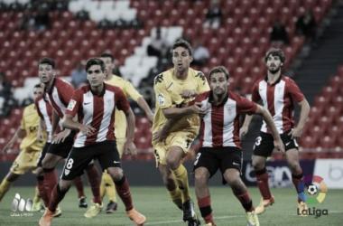 El Girona visitó San Mamés para enfrentarse al Bilbao Athletic. (Foto: LaLiga)