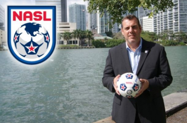 Bill Peterson – NASL Commissioner