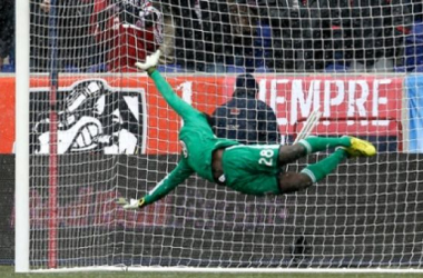 Bill Hamid, reigning MLS Goalkeeper of the Year and DC United Homegrown Player, began a trend which has seen more and more invest directly from MLS clubs directed at youth development. (Photo credit: Julio Cortez/AP)