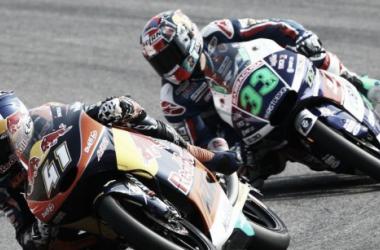 Binder and Bastianini dominate the San Marino Moto2 - www.ajo.fi