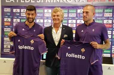 Benassi, Antognoni e Biraghi, twitter.com