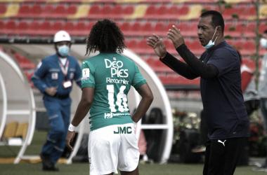 "Jhon Ortiz: ""Nos vamos contentos con el triunfo contra Bucaramanga"""