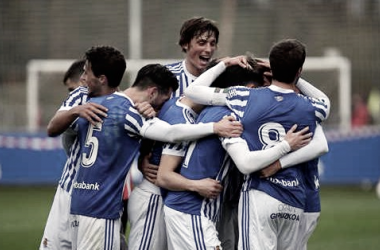 La Real Sociedad B se muestra imparable (Foto: Real Sociedad)