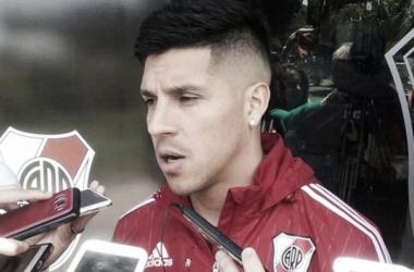Enzo, uno de los jugadores más relevantes del River de Gallardo (Foto: @MigueHoffmann)