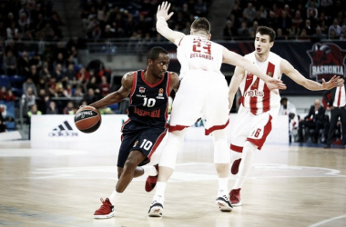 Baskonia se exhibe ante Estrella Roja. | Foto: Euroleague