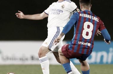 Antonio Blanco, capitán del Castilla en el día de hoy. Foto: @lafabricacrm