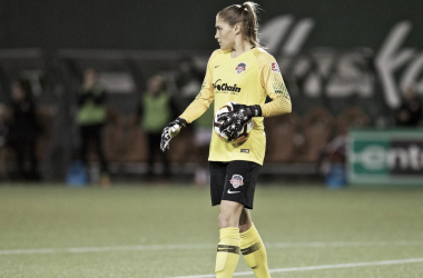 Aubrey Bledsoe against the Portland Thorns | Photo: NWSLsoccer.com