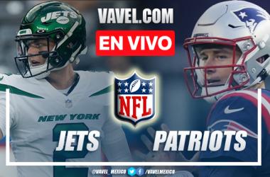 Resumen y anotaciones del Jets 13-54 Patriots en NFL 2021
