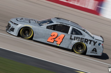 William Byron participates in a preseason test in Las Vegas - Brandon Farris/VAVEL USA