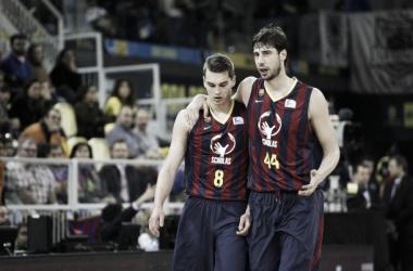 El Barcelona suda pero vence al Valencia Basket