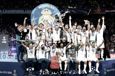 El Real Madrid se coronó en Kiev con su cuarta Champions en cinco años | Fuente: UEFA Champions League..