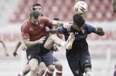 Independiente perdió contra Los Andes hoy por la mañana. Imagen: @Independiente