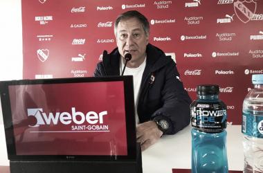 """Holan: """"La Superliga es el objetivo"""". Imagen: @Independiente"""
