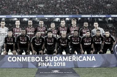 Atlético Paranense se coronó campeón de la Copa Sudamericana 2018, ganándose el derecho a disputar la Recopa Sudamericana. FOTO: Web.