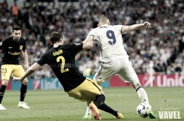 Karim Benzema vs Atleti | Foto: Vavel España