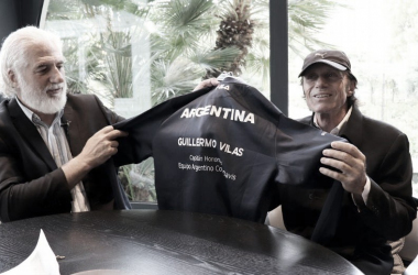 """Un reconocimiento """"de por vida"""" para Guillermo Vilas"""