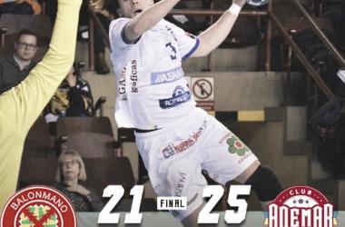 Gran victoria del Ademar León en Huesca
