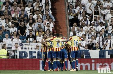 Reparto de puntos en el Bernabéu en un partido muy disputado
