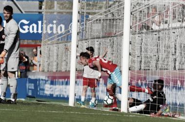 Dani Escriche anota el gol de la victoria   Fuente: La Liga