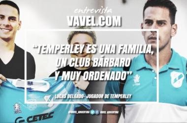 El jugador vive un gran momento profesional en Temperley, sueña con ganarse un lugar en el primer equipo y dejar a Temperley en Primera División. Foto | VAVEL